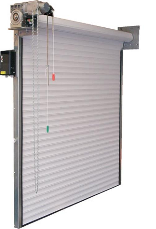 Roller Shutter Door : S industrial insulated roller door shutter