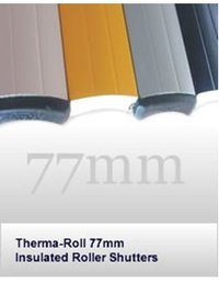 Therma Roll 77 Insulated Shutter - Electric Opening