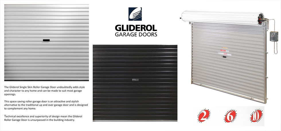 Gliderol Electric Roller Garage Door Uk Made Custom Sizes