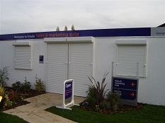 Insulated Roller Shutters - Electric Opening