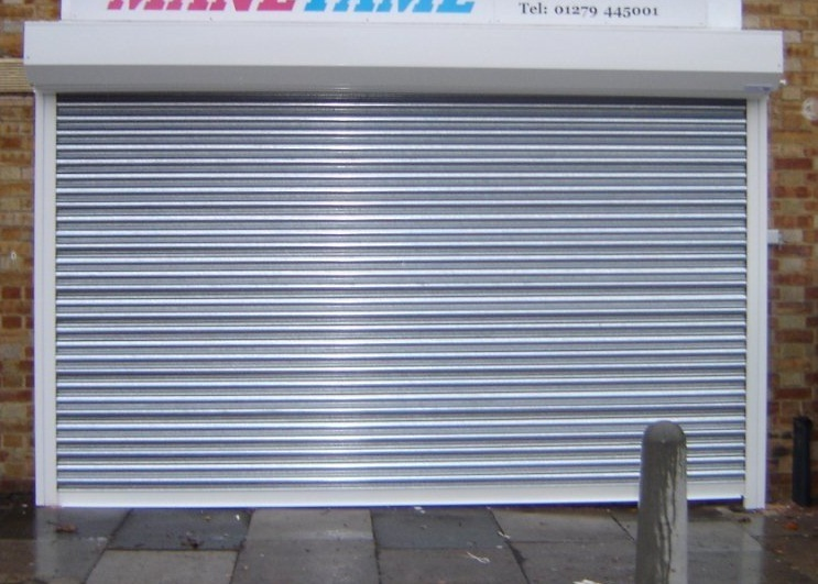 Sg75 Galvanised Roller Shutter Door Shop Front Shutters