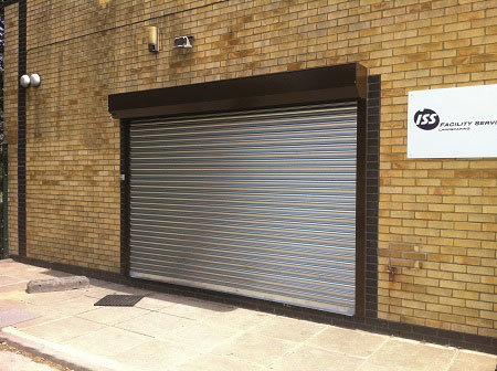 SeceuroShield 75 Galvanised Roller Shutter Door