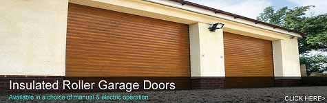 Insulated Roller Shutter Garage Doors