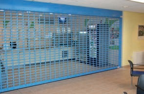Click here to view our punched lath security shutters