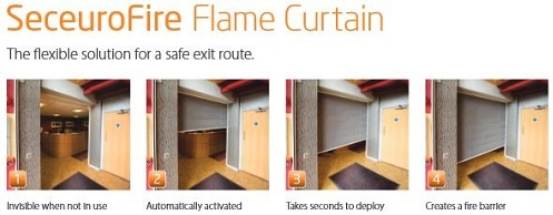seceurofire flame curtain