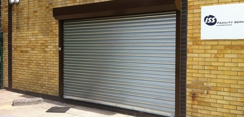 Seceuroshield 75 Galvanised Steel Roller Door