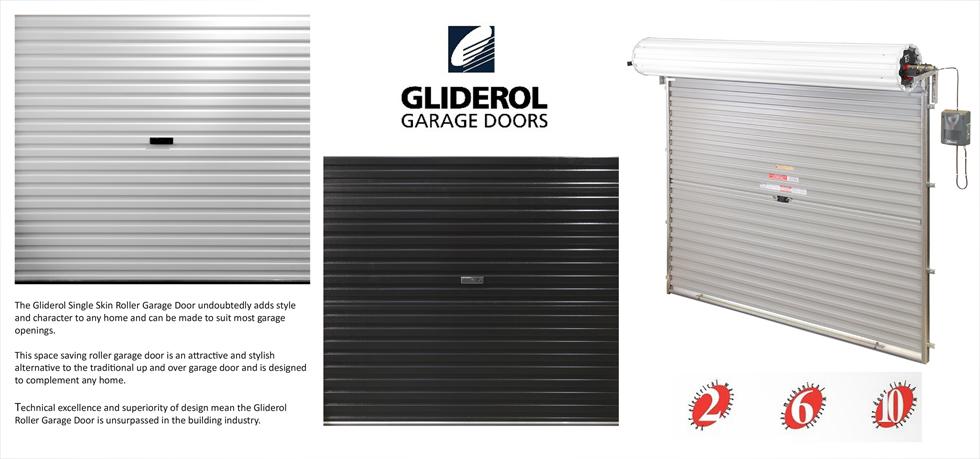 Gliderol Single Skin Roller Garage Door Manual Opening Roller