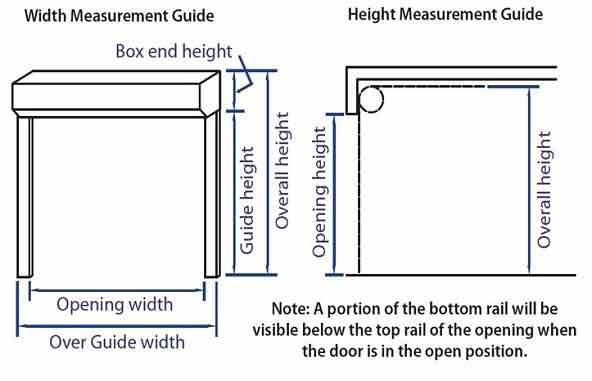 Gliderol Insulated Roller Garage Door Technical Specification